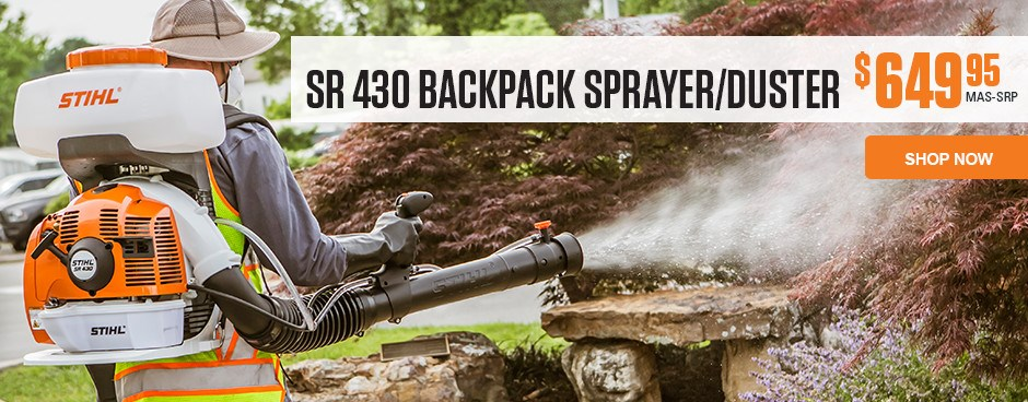 SR 430 Backpack Sprayer/Duster